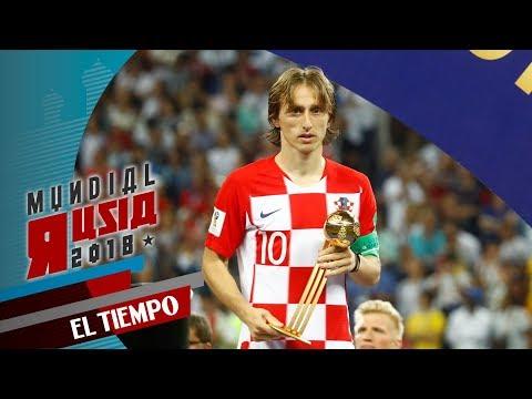 Luka Modric, es el mejor jugador del Mundial   EL TIEMPO   RUSIA 18