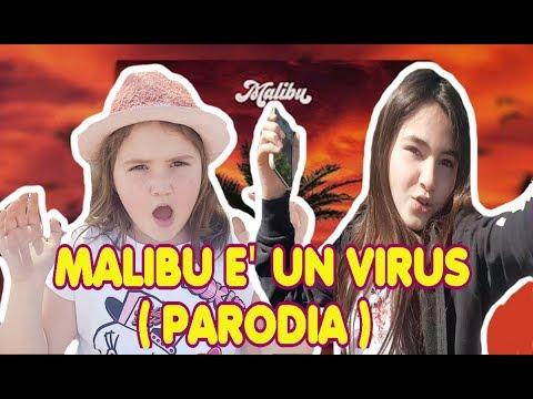 MALIBU  VEGAS JONES è UN VIRUS   Parodia Malibu by Marghe Giulia Kawaii