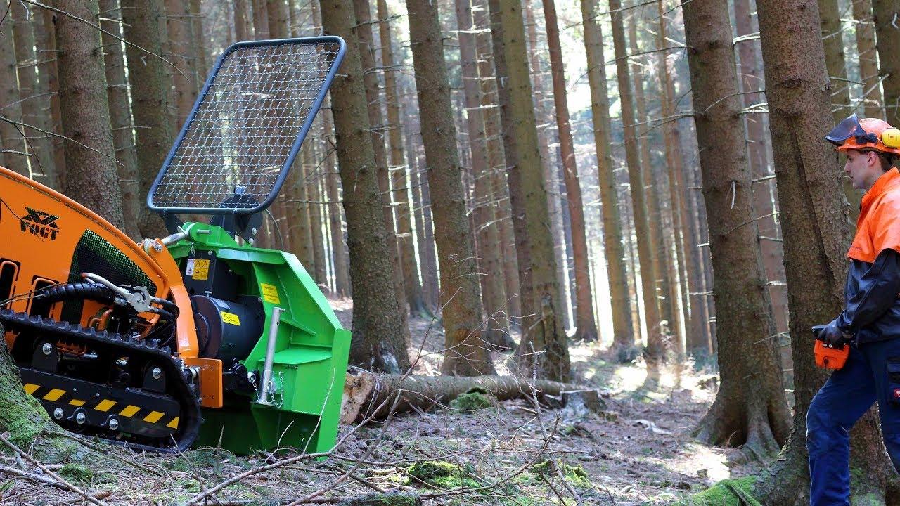 MDB LV 500 Multifunktionsraupe - Ausgestattet mit Forstschutz und Forstwinde von Ritter