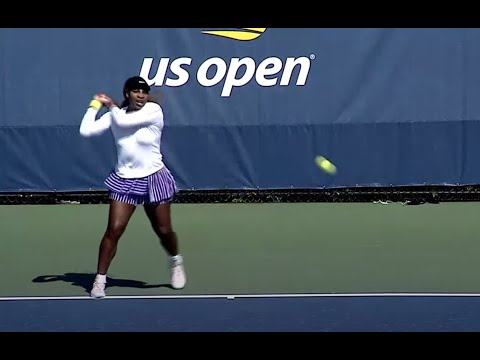 Serena Williams Practice Session | US Open 2020