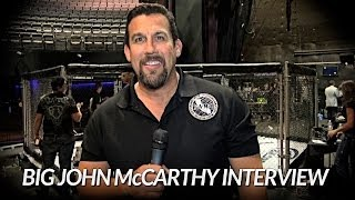 Big John McCarthy talks about old UFC days, future refs and more!