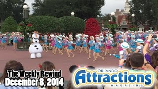 The Weekly Rewind @Attractions for Dec. 8, 2014 - Holidays, Frozen Celebration, More