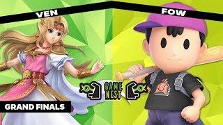 Game Nest Smash It Up: Sugoi   Ven (Zelda) vs FOW (Ness) - Grand Finals
