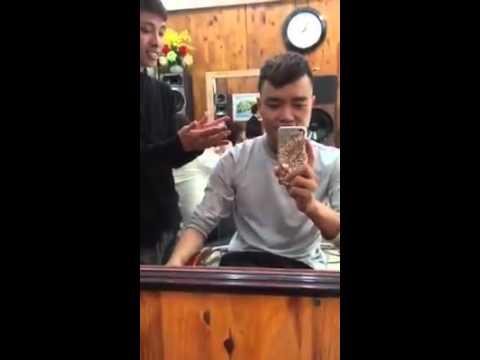 vuốt tóc bằng kem đánh răng