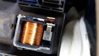 Как работает реле бензонасоса при включении зажигания Ланос