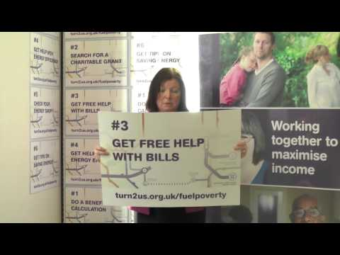 Roberta Blackman-Woods, MP supports Turn2us Fuel Poverty campaign