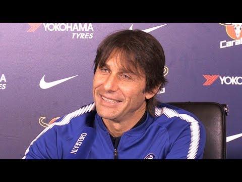 Antonio Conte Full Pre-Match Press Conference - Chelsea v Leicester - Premier League