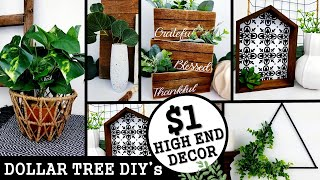 5 NEW DIY's HOME DECOR 2020 | HGH END DOLLAR TREE DIY | Anthropologie & West Elm Inspired