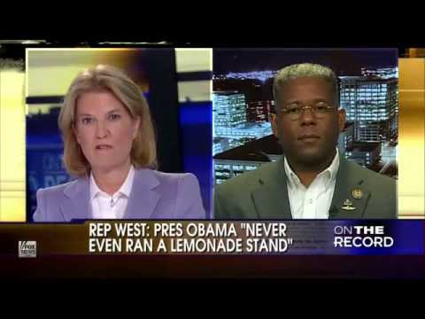 Allen West Obama Community Organizer Socialist Agitator Third World Dictator Like Arrogance