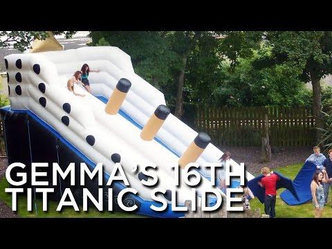 2010-07-24 'Gemma's 16th aka Titanic Slide'