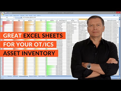 Create great Excel sheets for your OT/ICS asset inventory, automatically!