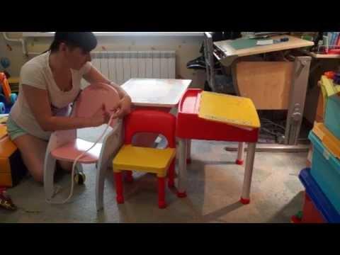 Выбираю детский  стол и стул для 2 лет