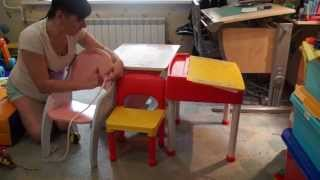 видео Выбираем стол и стул для ребенка в IKEA