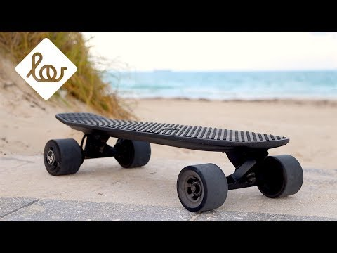 Lou Board 3.0  Compact Electric Skateboard  YouTube
