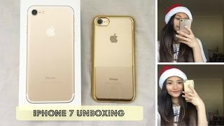 IPhone 7 Gold Unboxing