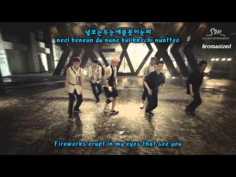 EXO - Growl (으르렁) 2nd Version Romanized/Hangul/English Subs