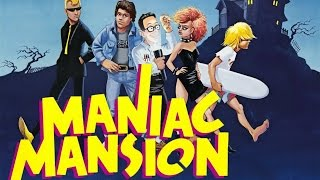 Maniac Mansion [Longplay Walkthrough PC HD]