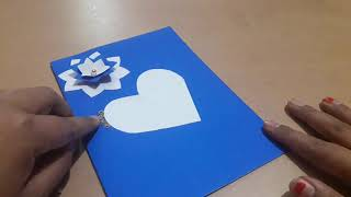 How to make greeting cards / new year card designs / greeting cards for new year / card making idea