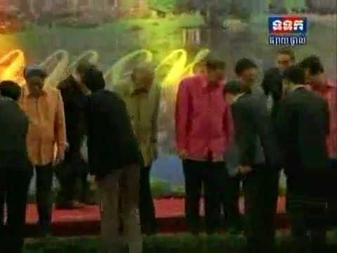 Cambodia: ASEAN SUMMIT GALA DINNER (in Khmer)