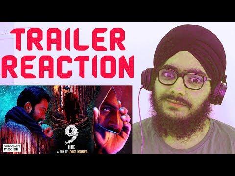 9 (Nine) Trailer REACTION | Prithviraj Sukumaran, Mamta, Wamiqa | 7 Feb 2019