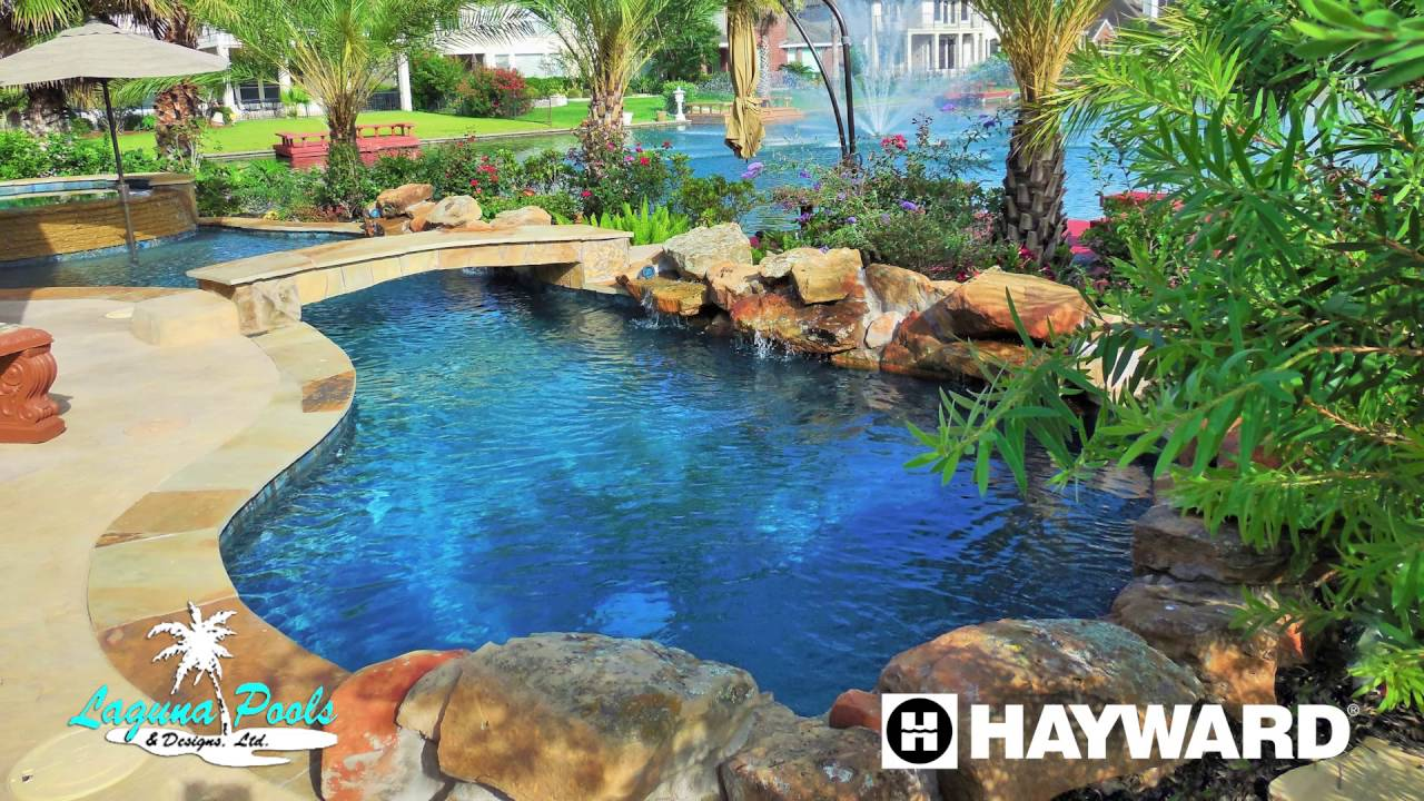 Laguna pools katy texas pool builder youtube for Pool design katy