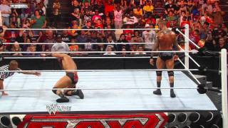 Raw - Randy Orton vs. Drew McIntyre