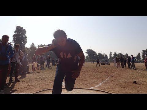 Shotput throw