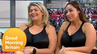 The Ladies Who Are Running The London Marathon In Their Underwear | Good Morning Britain