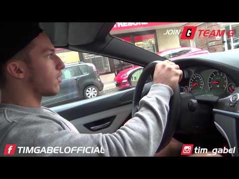BMW M6 Test von Karl Ess - Auf dem Weg ins Training - TIM-GABEL.COM