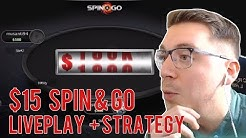 SPIN & GO STRATEGY AND LIVE PLAY at $15 stakes! Spin & Go Strategy Series