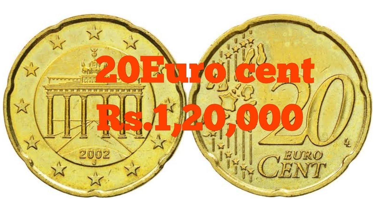 Euro 20 Cent Coin Value