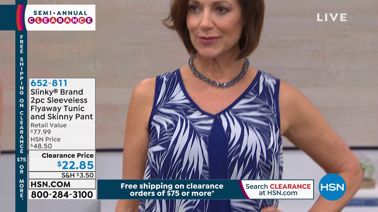 [VIDEO] - HSN | Slinky Brand Fashion Clearance 12.26.2019 - 11 PM 4