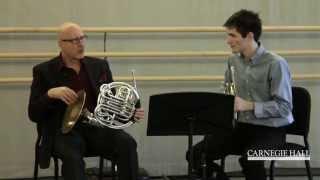 Carnegie Hall Horn Master Class: Strauss