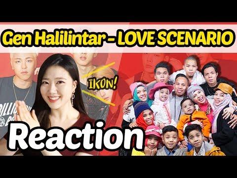 Reaction To Gen Halilintar (Cover)- LOVE SCENARIO(IKON)