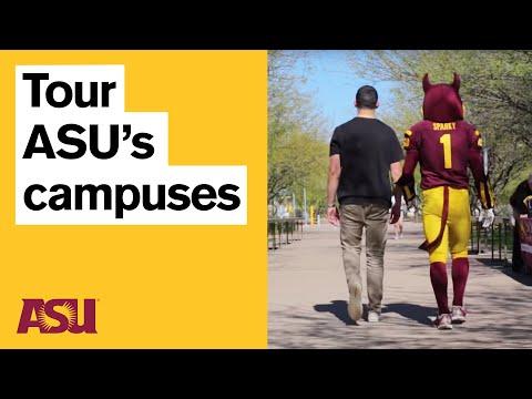 ASU Campus Tour   Life at Arizona State University