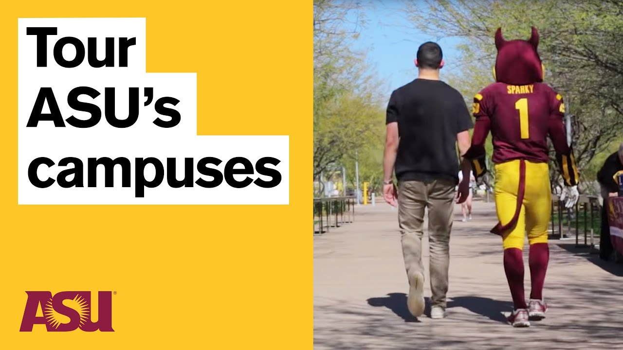 ASU Campus Tour | Life at Arizona State University - YouTube
