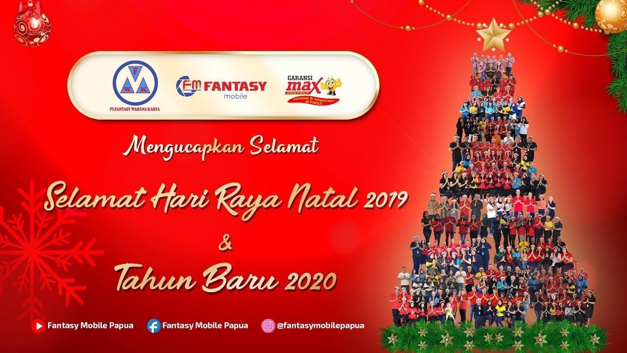 UCAPAN NATAL 2019 DAN TAHUN BARU 2020 - FANTASY MOBILE ...
