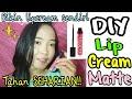 DIY LIP CREAM MURAH & TAHAN SEHARIAN (Bikin Liquid Lipstik Sendiri) | DIY LIPCREAM + SWATCH