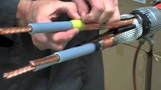 Heat Shrink Cable Joint - 11kV 3 Core XLPE & EPR High Voltage Cable Joints