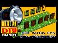 Como hacer un amplificador de audio de 1000w, Amplificador de sonido / Audio amplifier