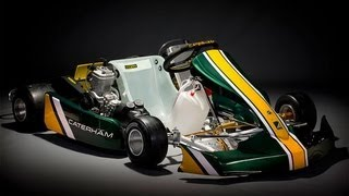 Caterham CK-01 Kart 2013 Videos