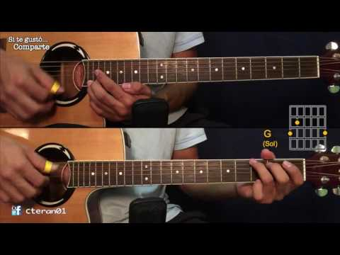 Me Enamore - Anthony Santos Cover/Tutorial Guitarra