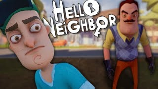 MY NEIGHBOR IS SPYING ON ME | Hello Neighbor - ACT 1
