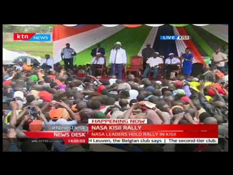 NASA's Raila Odinga's full speech at Kisii Stadium