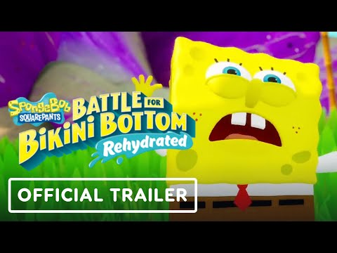 SpongeBob SquarePants: Battle for Bikini Bottom Rehydrated – Official Gameplay Trailer