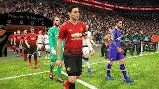 Tottenham vs Manchester United - Premier League 13/01/2019 Gameplay