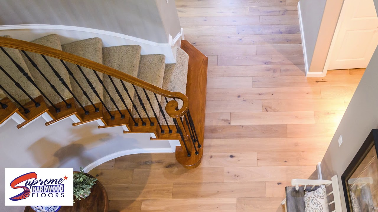 Hardwood Flooring Installation From Supreme Floors