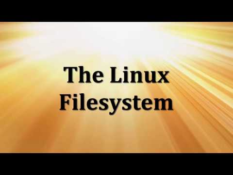 The Linux Filesystem
