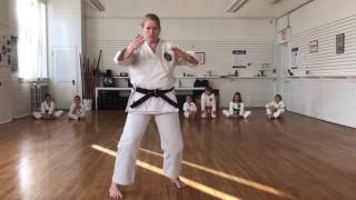 Tenchi - practice guide for Elora Karate Dojo