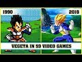 VEGETA, the evolution in video games [1990 - 2018]